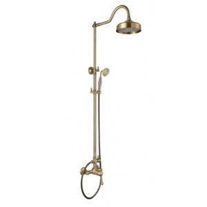 Душевая система Aksy Bagno Faenza Light Fa410-2002-2001L bronze
