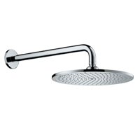 Верхний душ Ø230 мм с держателем 383 мм hansgrohe Raindance S 300 AIR арт.27493000 хром